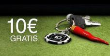 Vuoi 10 € GRATIS senza deposito?