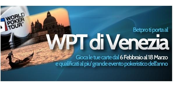 """Betpro ti porta al """"Festival del Poker"""" di Venezia: scopri come qualificarti!"""