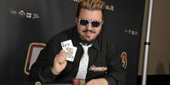 Max Pescatori entra nel Team Pro Poker Club!