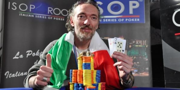 ISOP – Daniele Sottile vince il Main Event delle ISOP. Al team Candio's room il titolo a squadre