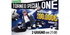 """Non mancare allo """"SpecialONE"""": 200.000€ GTD su Glaming!"""