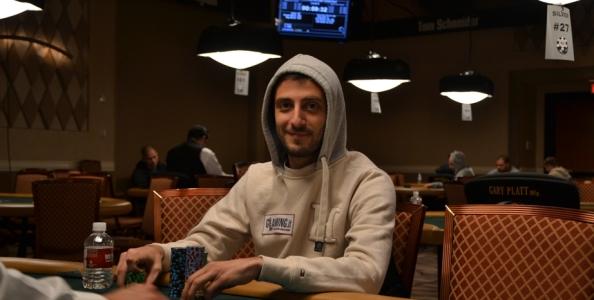 Andrea Dato al Day2 dello Shootout da 1.500$! Con lui di nuovo Bianco e Longobardi