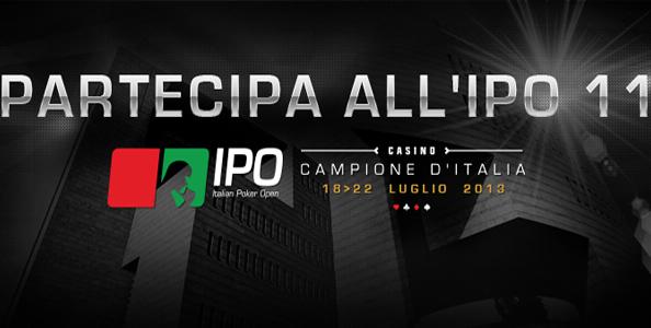 "IPO 11 ""Summer edition"": qualificati online su Titanbet, a partire dai Freeroll!"