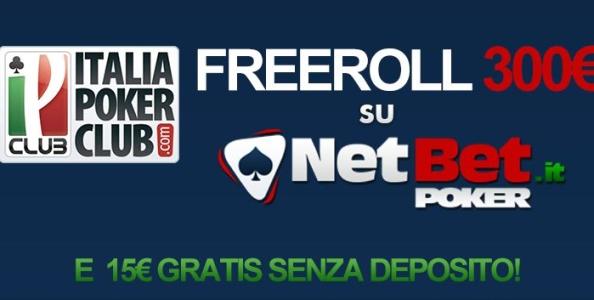 STASERA vuoi giocare un freeroll da 300 €?