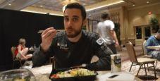 Dario Alioto: mangiare sano alle WSOP