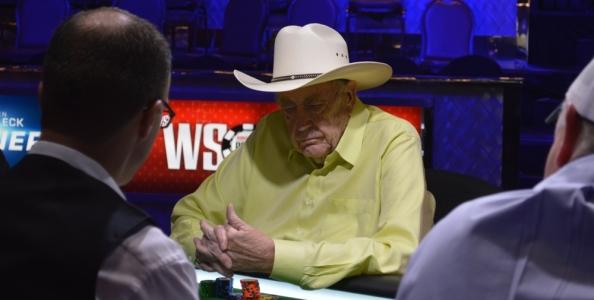 Doyle Brunson riconferma il suo addio alle WSOP, ma è pronto a scommettere sul figlio Todd contro chiunque!