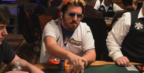 Max Pescatori al Day3 del Poker Players Championship in buona forma