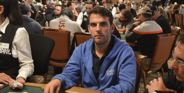 WSOP – Gianluca Rullo al day2 del Main Event… con 325 chips!