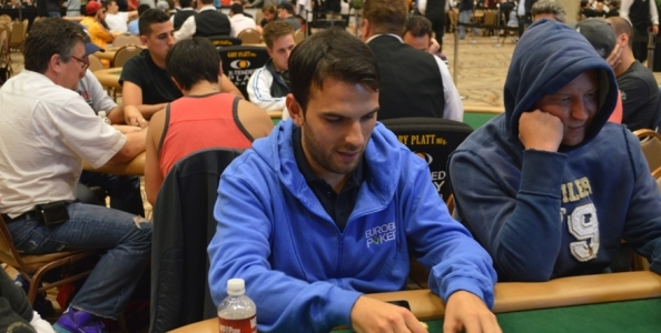 Gianluca Rullo fra i chipleader del Day1B del Main Event!