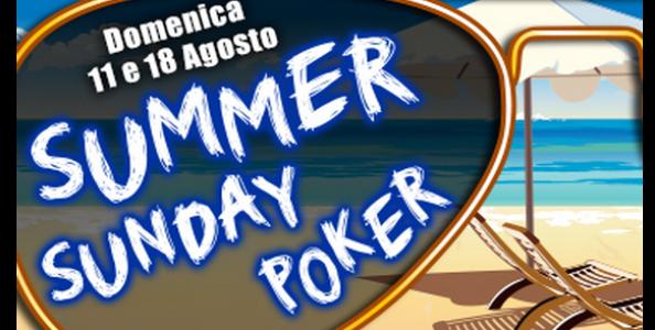 Summer Sunday ben oltre il garantito, LATTE81 vince 6.604€!