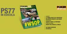 Poker Sportivo 77 è in edicola!