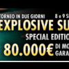 "Explosive Sunday per ""lamamy"", che vince 14.480€"
