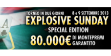 "Explosive Sunday per ""lamamy"", che vince 14.480€"