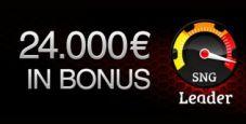 SNG Leader – 6.000 € in palio ogni settimana!