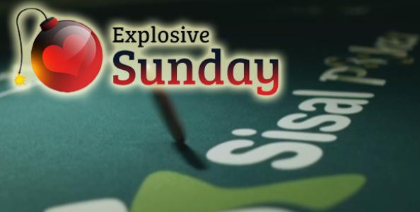 Gioca GRATIS l'Explosive Sunday: 4 ticket in palio nei nostri freeroll esclusivi!