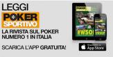 Scarica GRATIS l'App di Poker Sportivo su iPad!