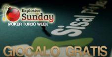 Gioca GRATIS il main event della Turbo Week di Sisal Poker!