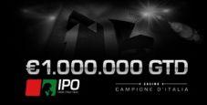 Torna l'IPO da un milione garantito!
