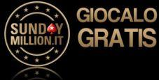 Gioca GRATIS il Sunday Million: 4 ticket in palio nel nostro freeroll esclusivo!