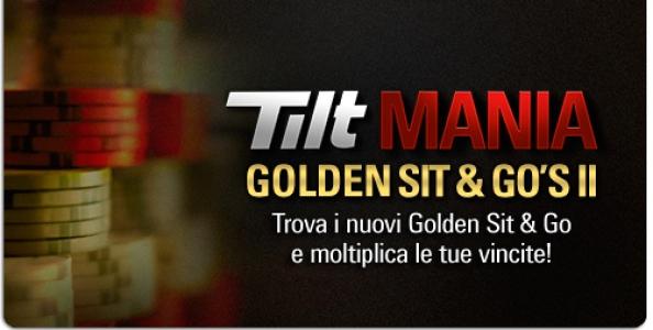 Deja vu da Tilt Mania: su Pokerstars tornano i Golden Sit & Go!