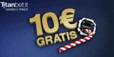Titanbet.it regala 5€ senza deposito per il poker!