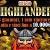 """""""X-mas Highlander"""" su GDpoker: al ventesimo sit giocato ricevi un buy-in in regalo!"""