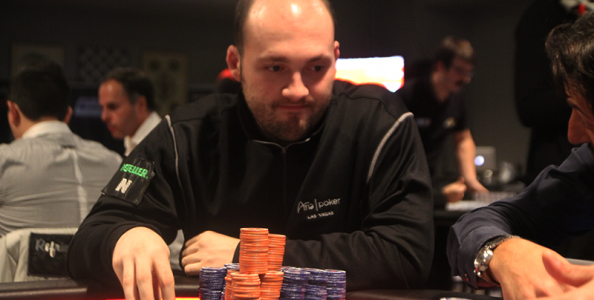 Domenico Drammis chipleader in un final table IPT stellare!