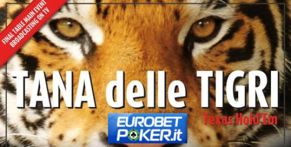 """Eurobet si tuffa nei tornei live: pronta la """"Tana delle Tigri"""" per marzo 2014 a Praga!"""