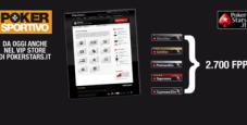 Abbonati a Poker Sportivo sul Vip Store di Pokerstars!