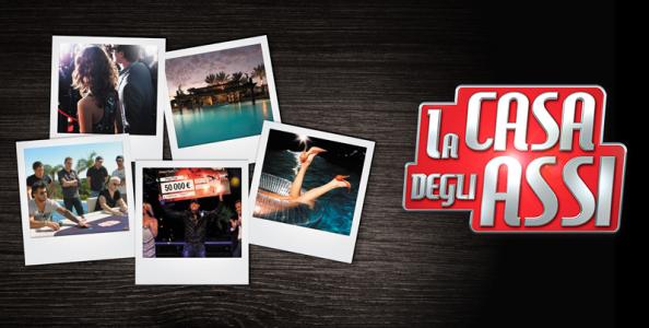 """Deposita 10€ su Pokerstars: per te subito 10€ in bonus ed il ticket per """"La Casa degli Assi Shooting Stars""""!"""