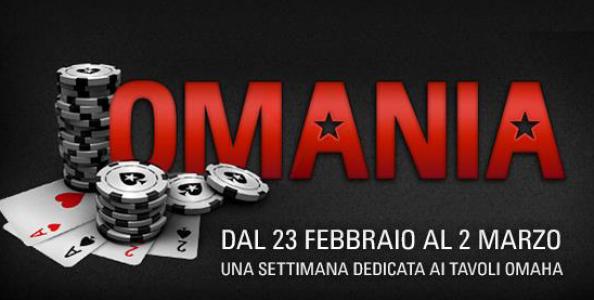 """""""Omania"""": per gli amanti delle quattro carte una settimana di tornei, freeroll e happy hour su Pokerstars.it!"""