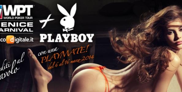 Sedersi al tavolo con una coniglietta di Playboy? Al WPTN Venezia puoi grazie a GDpoker!