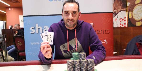 Giuseppe Pilloni vince l'ultima edizione dello SharkBay a Nova Gorica