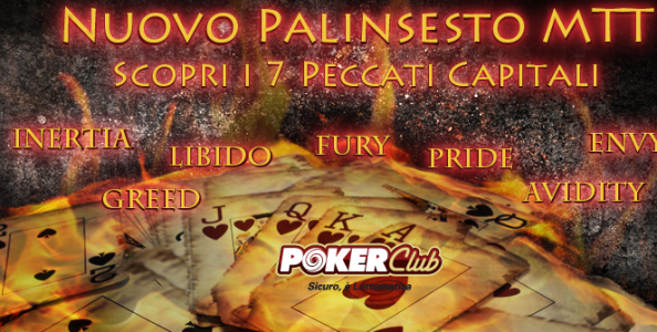 Nuovo palinsesto mtt su Poker Club!