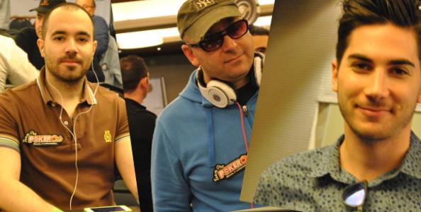 De Dato, Gemmi e Bartolucci: è il nuovo team pro online Poker Club!