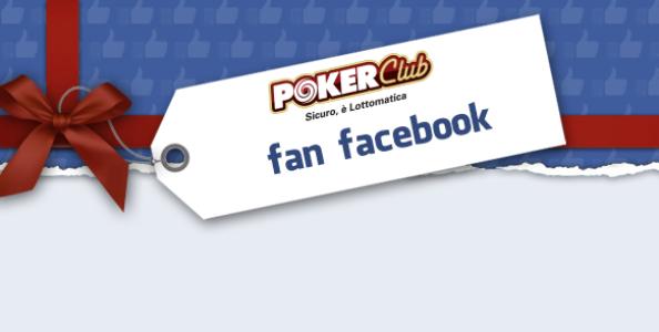 Diventa fan Facebook Poker Club e partecipa ai freeroll esclusivi: in palio 1200€!