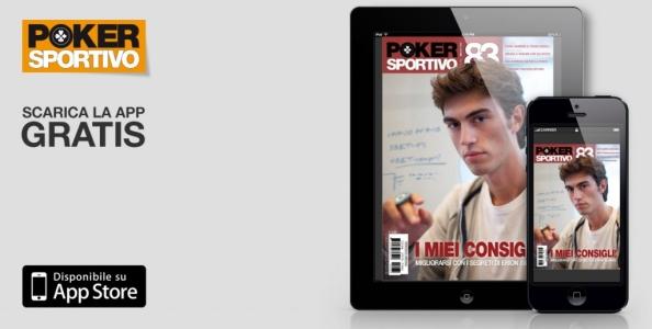 Il nuovo numero di Poker Sportivo in edicola e sul tuo tablet