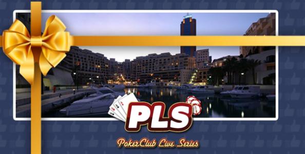 Gioca le Poker Club Live Series con solo 1€!