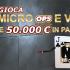 Continuano le Micro OPS: evento 5 a 'offmatador', il 6 a 'CONTINUATIONbet'
