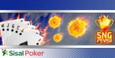 Sit'n'Go Fever: su Sisal Poker 24.000€ al mese in classifiche speciali!