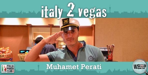 """Muhamet Perati alla volta di Vegas: """"Main Event e serate fuori dal casinò…"""""""