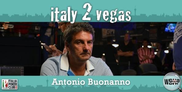 """Antonio Buonanno e il piano per Las Vegas: """"Il sogno è giocare il Big One for One Drop!"""""""