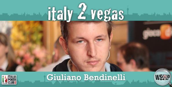 """Giuliano Bendinelli: """"La mia prima Vegas"""""""