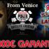 Gioca i satelliti per la Tilt Poker Cup di Venezia, l'unico evento live in Italia che ti regala le WSOP!