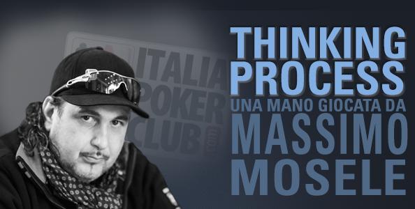 Thinking Process – Massimo 'Maxshark' Mosele e la coppia di Re giocata in check-call 10 left allo Special