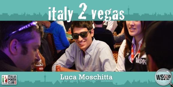 Luca Moschitta e le WSOP 2014, 'Rimanere concentrati per fare meglio dell'anno scorso'