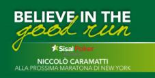 """Niccolò Caramatti e la maratona di New York: """"lo sport è fondamentale nella vita di un pokerista""""."""