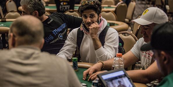 Ferdinando Lo Cascio e il raise river per far foldare al 1.500$ Mixed Max WSOP