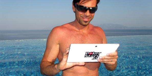 """I consigli di Vito 'w1llyss' Barone per giocare in spiaggia da app mobile: """"Per iniziare state all'ombra…"""""""