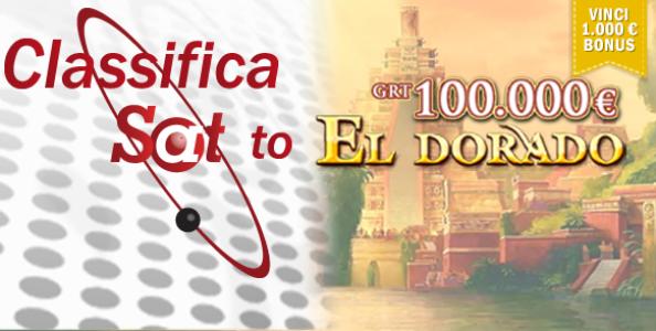"""Partecipa alla classifica """"Sat To ElDorado"""" su Poker Club: in palio ben 1000€ in bonus poker!"""